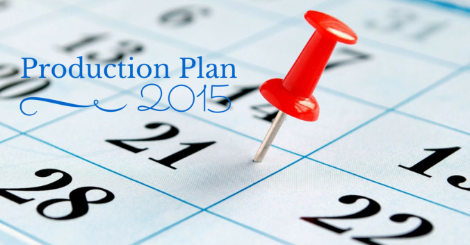 Author Elizabeth Spann Craig on Creating Your Production Plan for 2015