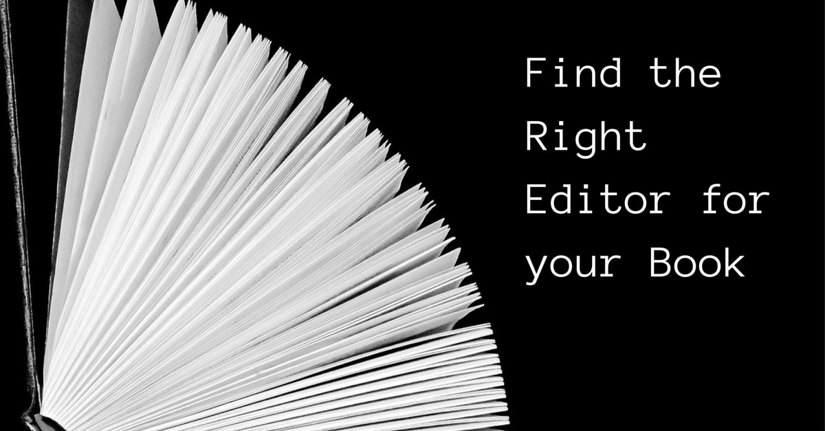 Find the Right Editor for Your Book