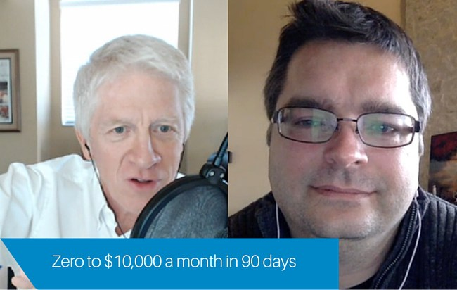 This Author went from zero to $10,000 per month in 90 days